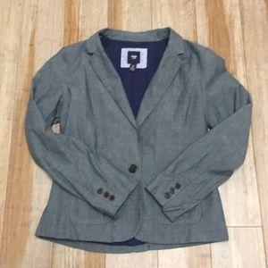 Gap chambray blazer